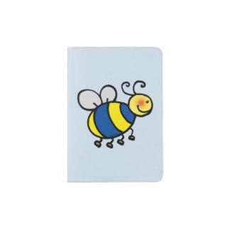 cute honey bee passport holder