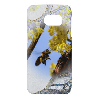 Cute Honey Bee Samsung Galaxy S7 Case