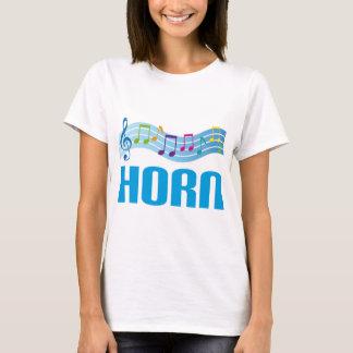 Cute Horn Staff Blue T-Shirt