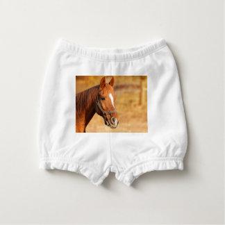CUTE HORSE DIAPER COVER