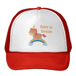 Cute Horse Dreams to be Unicorn Humor Trucker Hat