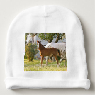 CUTE HORSE FOAL AND MARE BABY BEANIE
