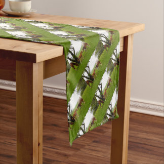 CUTE HORSE FOALS SHORT TABLE RUNNER