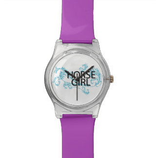 Cute Horse Girl Watch