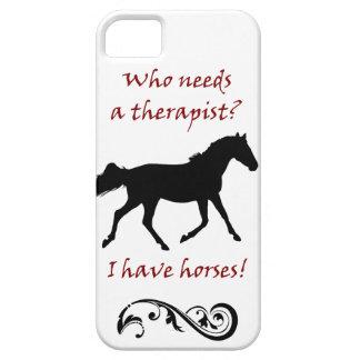 Cute Horse Therapist iPhone 5 Case-Mate Case
