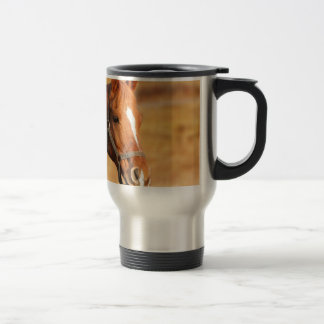 CUTE HORSE TRAVEL MUG