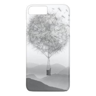 Cute Hot Air Balloon Dandelion Seeds Blowing iPhone 8 Plus/7 Plus Case