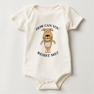 Cute How Can You Resist Me Baby Bodysuit