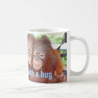 Cute Hug Mug  with Animals