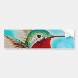 Cute Hummingbird Bumper Sticker
