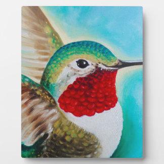 Cute Hummingbird Plaque