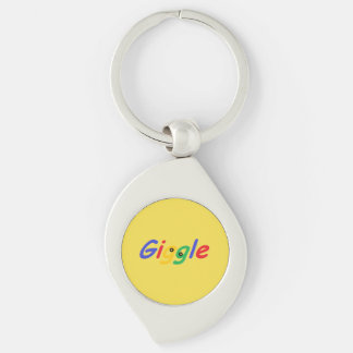 Cute, humorous and colorful keychain