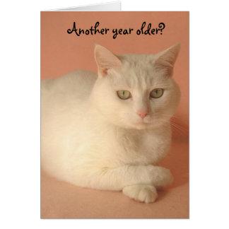 Cute Humorous Female Birthday Card