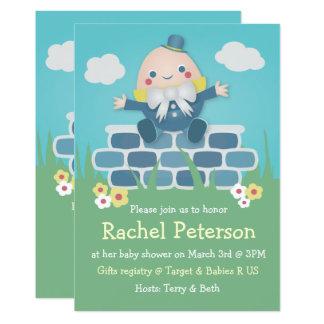 Cute Humpty Dumpty Baby Shower Invitation