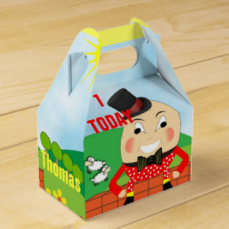 Cute Humpty Dumpty Nursery Rhyme Theme Favor Box