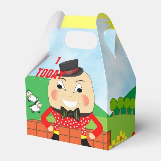 Cute Humpty Dumpty Nursery Rhyme Theme Favor Box