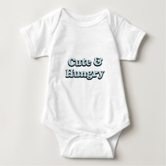 Cute & Hungry Baby Bodysuit