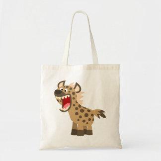 Cute Hungry Cartoon Hyena