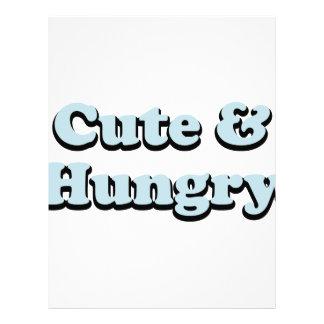 Cute & Hungry Letterhead