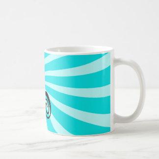 Cute Hypnotic Cat Coffee Mug
