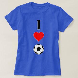 """Cute """"I Heart (Love) Soccer"""" Women's T-shirt"""