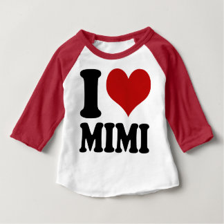 Cute I Heart Mimi Baby T-Shirt
