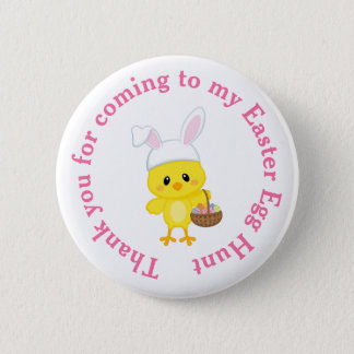 Cute 'I Joined an Easter Easter Egg Hunt' 2 Inch Round Button