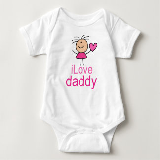 Cute I Love Daddy T-shirt