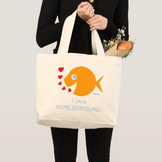 Cute I Love Homeschooling Teacher Book Bag