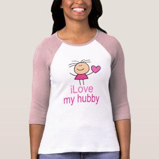 Cute I Love my Hubby T-shirt