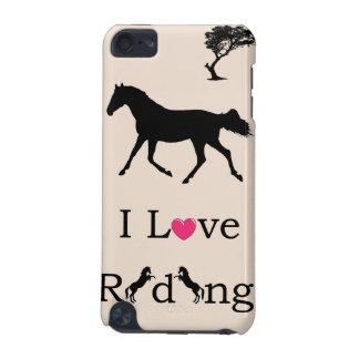 Cute I Love Riding Equestrian iPod Speck Case