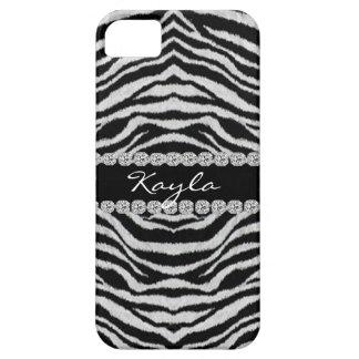 CUTE I phone 5 CASE BLACK & WHITE ANIMAL THEME iPhone 5 Cover