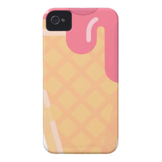 Cute Ice Cream Cone iPhone 4 Cover