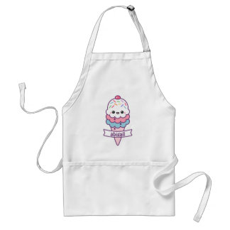 Cute Ice Cream Cone Standard Apron