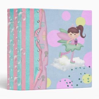 cute ice cream fairy notebook vinyl binders