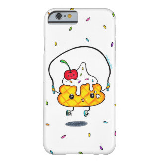 Cute Ice Cream Jump Roping Barely There iPhone 6 Case