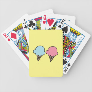 Cute Ice Cream shirts, accessories, gifts Bicycle Playing Cards