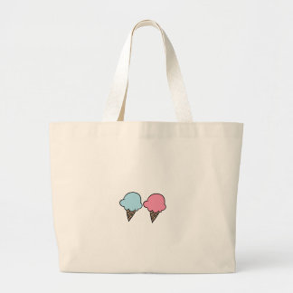 Cute Ice Cream shirts, accessories, gifts Large Tote Bag