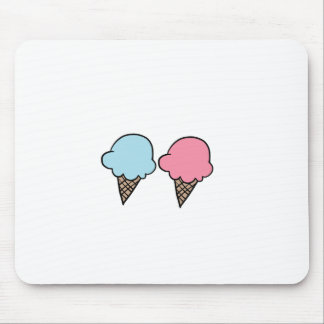 Cute Ice Cream shirts, accessories, gifts Mouse Pad