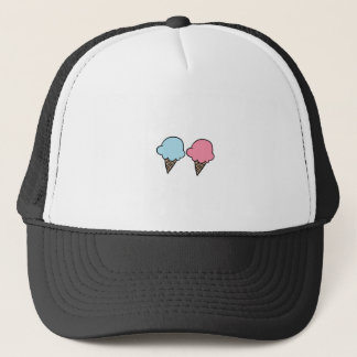Cute Ice Cream shirts, accessories, gifts Trucker Hat