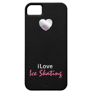 Cute Ice Skating iPhone 5 Case