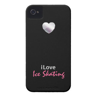 Cute Ice Skating iPhone 4 Cases