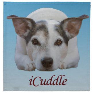 Cute iCuddle Jack Russel Dog Napkin
