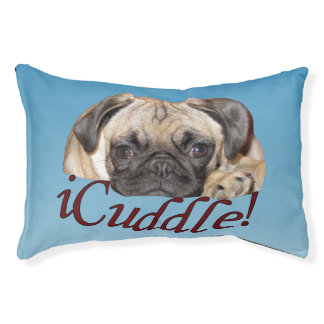 Cute iCuddle PugPuppy Dog Pet Bed
