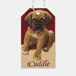 Cute iCuddle Puppy Dog Gift Tags