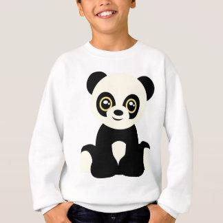 Cute illustrated panda sweatshirt