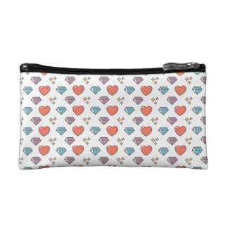 Cute Illustrated Pattern Makeup Bags