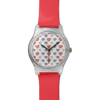 Cute Illustrated Pattern Wristwatches