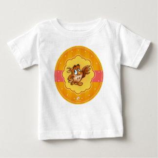 cute infant cartoon owl shirt