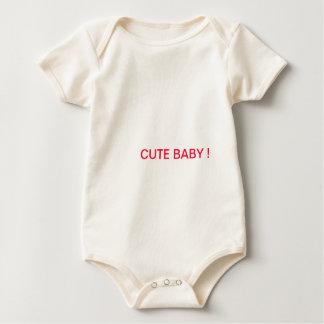 Cute Infant Organic Creeper, Natural Rompers